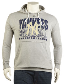 MLB Fashion Raw-Edge Hoodie