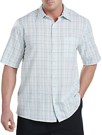 Harbor Bay® Seersucker Sport Shirt