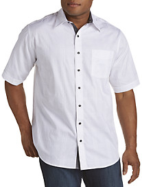 Synrgy® Tonal Patterned Sport Shirt